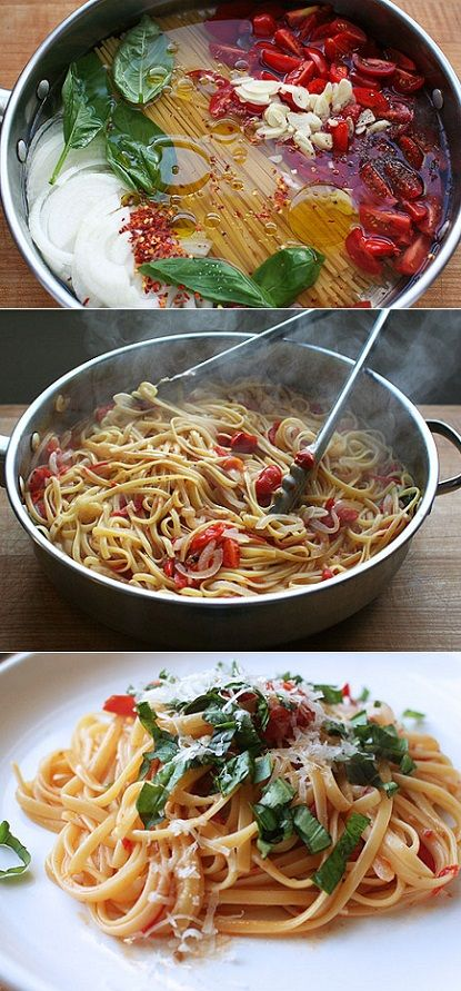 exPress-o: Genius One-Pan 10 Minutes Pasta!