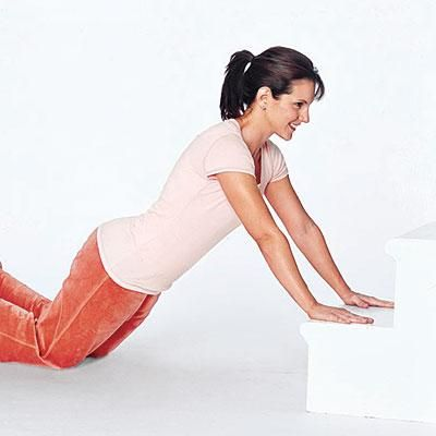 Exercise at home: Incline Plank