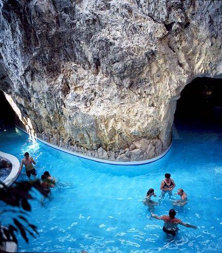 Cave Bath, Miskolctapolca, Hungary