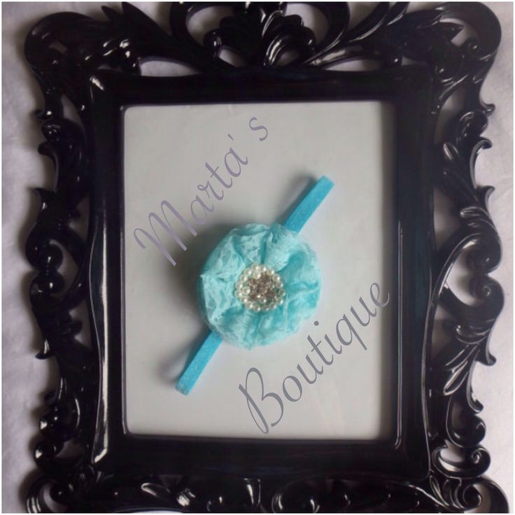 A personal favorite from my Etsy shop https://www.etsy.com/listing/228685275/blue-sparkle-lace-collection-headband