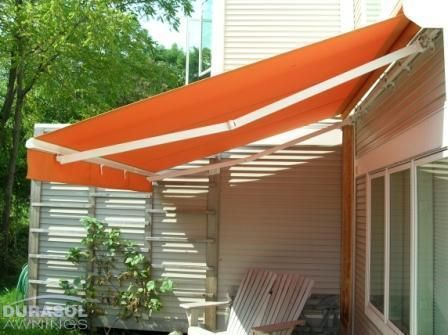Custom Made And Professionally Installed, Retractable Fabric Awnings For  Decks, Patios, Terraces And Windows Which Are Available Through A Network  Of ...