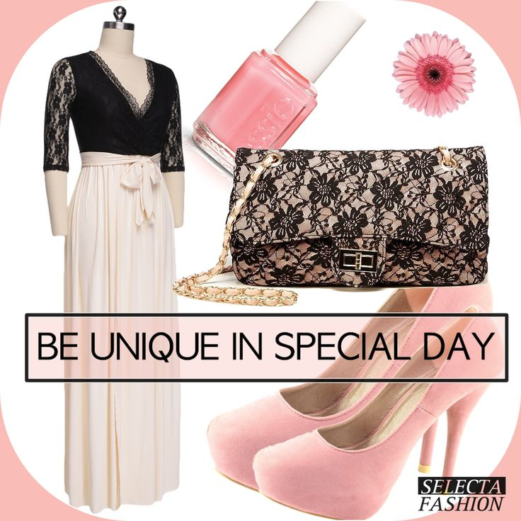 Čas stužkovej či vianočných večierkov sa blíži! Buď unikátna v takýto špeciálny deň!  Všetky produkty nájdeš online tu http://goo.gl/oo6Vjn  #fashion #dnesnosím #šaty #stužková #ružová #kabelkachanel #beunique #selectyourfashion #dress #iweartoday #clothes @SelectaFashion