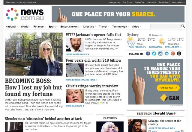Sharing my story on #news.com.au