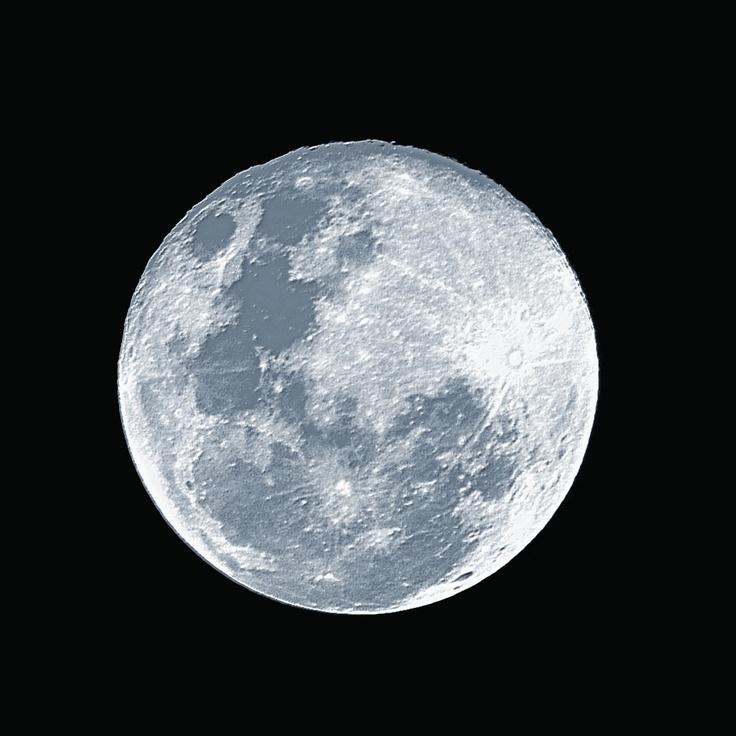 A lua azul