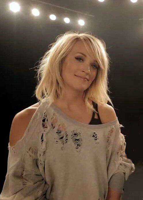 Carrie on set of The Fighter music video! | I Carrie ...