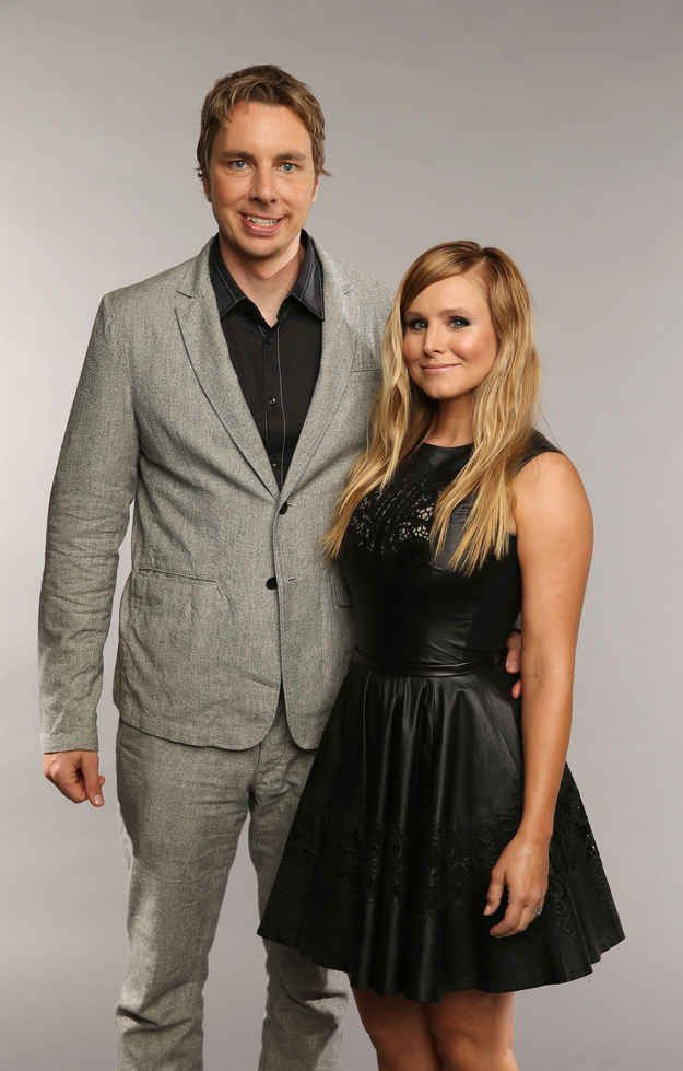 Kristen Bell and Dax Shepard, October 16. | The Year In Celebrity Weddings