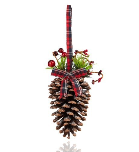 88 best pine cone crafts images on pinterest pine cones for Fir cone christmas tree decorations