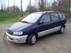 Toyota Picnic 1997 - gekocht 12-02-2003 177000 KM - ingeruild 28-01-2015