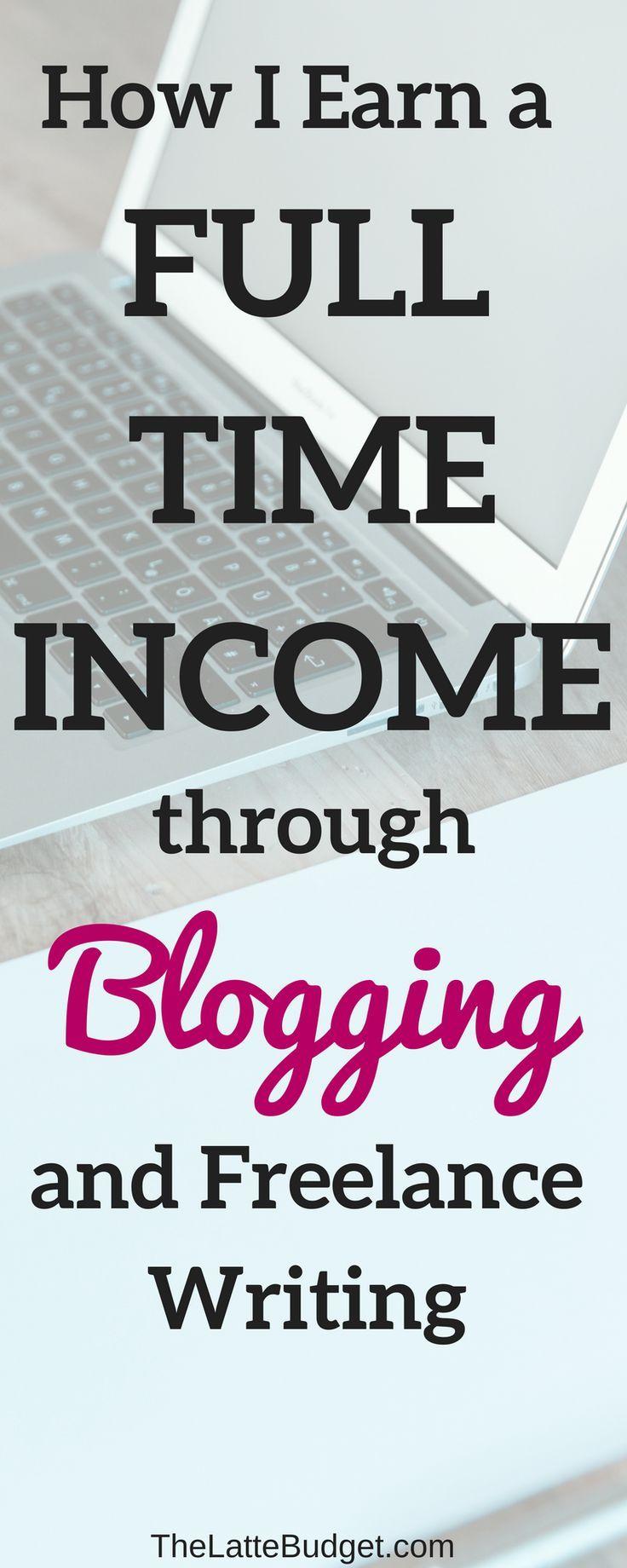 earn money blogging   make money from home   start a blog   make money blogging   freelance writing