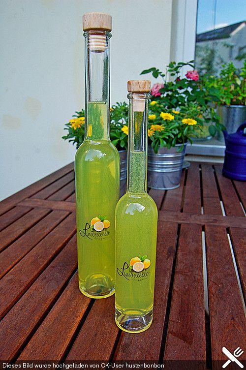 Limoncello (Rezept mit Bild) von UschiG   Chefkoch.de