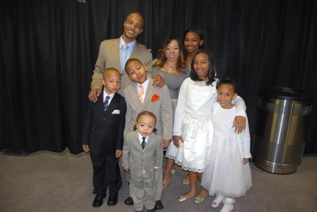 """Atlanta rapper-actor T.I. and fiancee Tameka """"Tiny"""" Cottle (in the top picture above) welcomed their second child together, Major Harris, early Friday morning in an Atlanta area hospital. Description from alt.coxnewsweb.com. I searched for this on bing.com/images"""