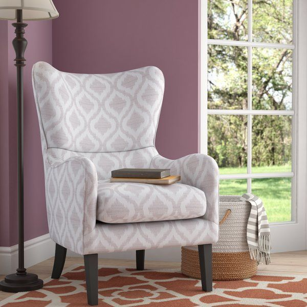 Oday Wingback Chair Wingback Chair Chair Outdoor Dining Chair Cushions #overstuffed #chairs #for #the #living #room