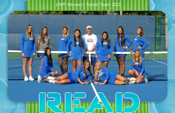 UWF Women's Tennis 2012