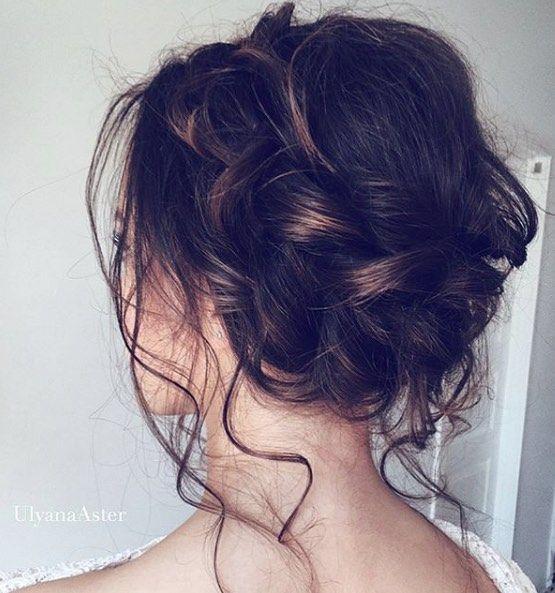 Featured Hairstyle: Ulyana Aster; www.ulyanaaster.com; Wedding hairstyle idea.