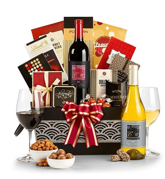 17 best images about birthday gift baskets for her on for Best wine gift ideas