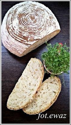 Ewa w kuchni: Chleb pszenno - lniany