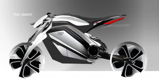 Audi roadster Motorrad concept