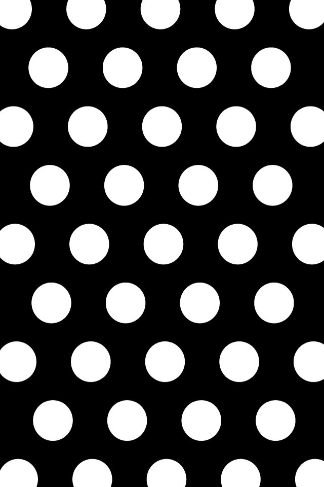 Kate Spade Polka dot iPhone wallpaper