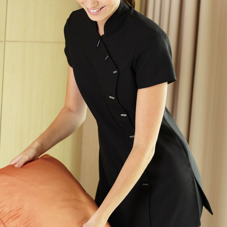 17 best images about working in the beauty related for Uniform at spa castle