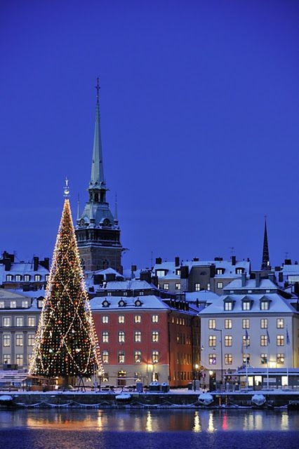 Christmas in Stockholm. One day, I will make it happen