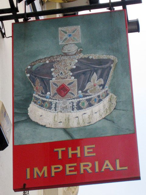 The Imperial sign