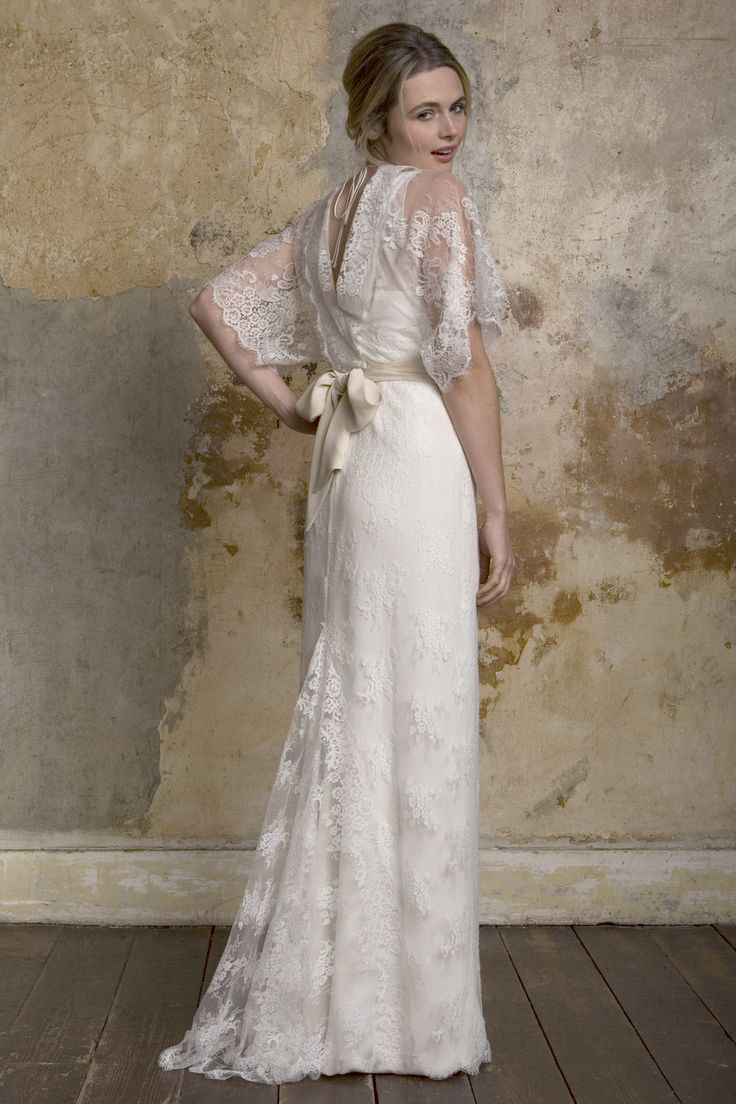 62 besten Silk Wedding Dresses Bilder auf Pinterest ...