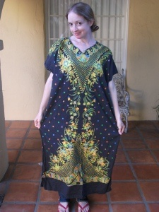 This crazy sewing lady makes a dress a day for under 1$ using thrift store finds. I want to be her.