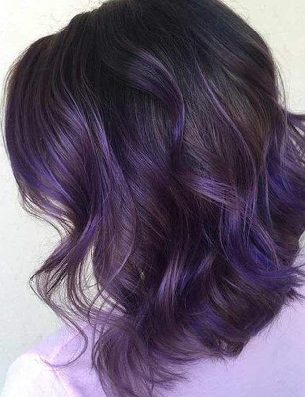 Cheveux Violets La Tendance Pinterest Qui Nous Seduit Cheveux Cheveux Violets Idee Couleur Cheveux