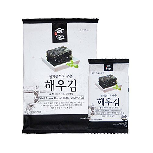 SikGaek Haewoo Roasted and Seasoned Seaweed Nori Variety Package Full Size 20g 6 Packs  Snack Size 5g 32 Packs >>> To view further for this item, visit the image link.