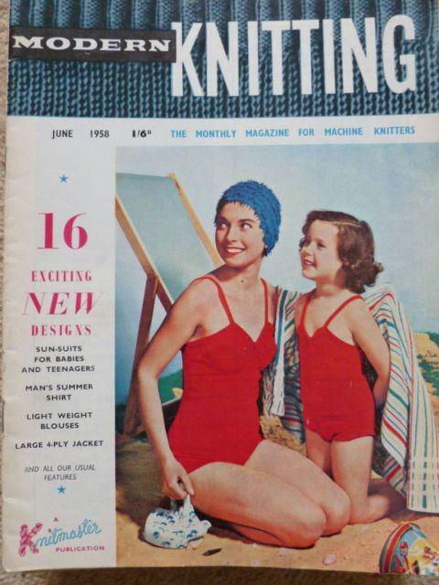 Knitting Toys Magazine : Images about modern machine knitting magazine on