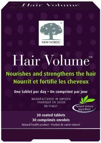 New Nordic Hair Volume, 30 Count Body Care / Beauty Care / Bodycare / BeautyCare | Your #1 Source for Beauty Products