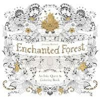 Enchanted Forest: An Inky Quest & Coloring Book 12,80€