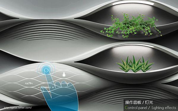Harmonious Coexistence – Air Purifier Design on Behance