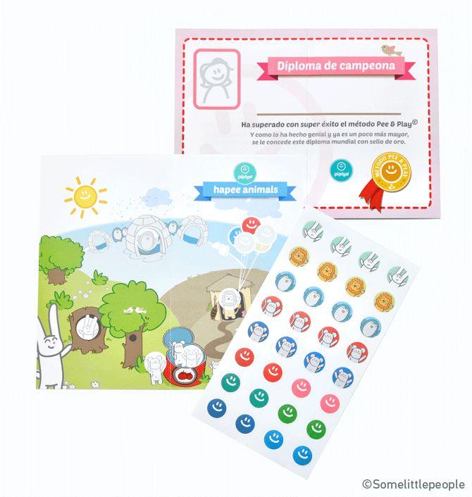Quitar el pañal a tus hijos con los stickers más divertidos
