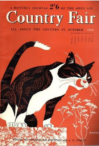vintage everyday: Vintage Country Fair Magazine Covers, Oct. 1955