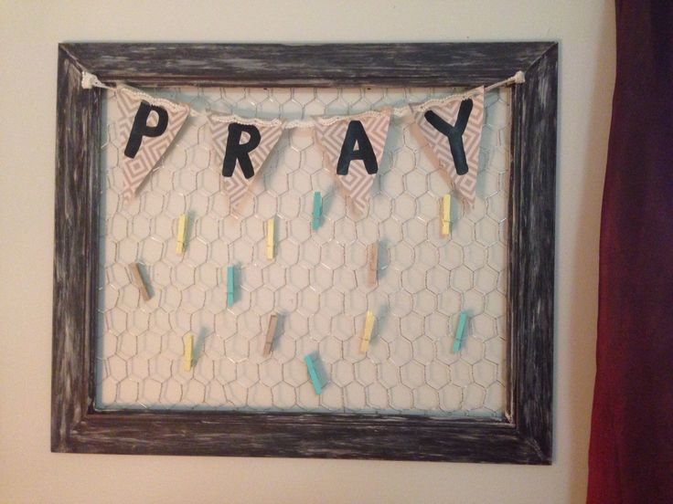 Prayer board made by my awesome Roomie for our dorm!! Super cute decor for any college dorm! @christalwk We need to make this for my hall next year!