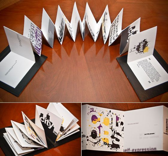 15 Creative and Unique Booklet Designs – DesignSwan.com