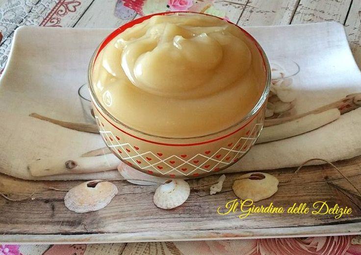 Crema+al+latte+di+cocco+senza+uova