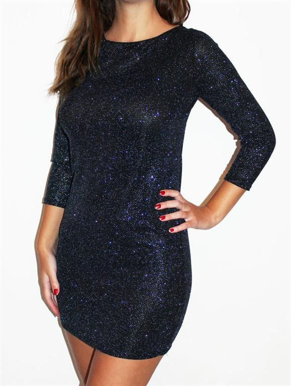 Blue Glitter Backless Going Out Dress - £32.99 : Going Out Dresses - Going Out Dress   Going Out Dresses UK