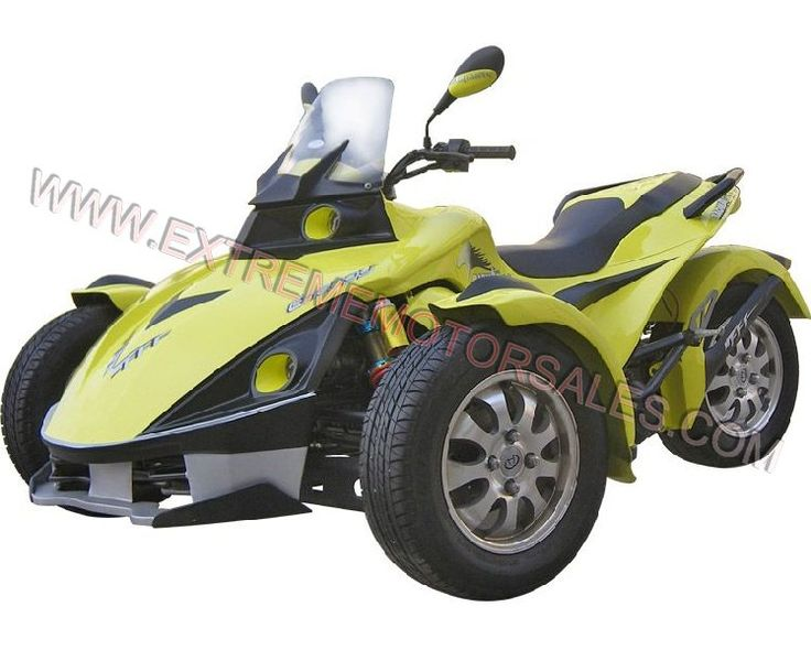 250 cc 3 Wheel T Rod Motorcycle CanAm Spider Scooter Motorcyle Dealer. Reverse Trikes.