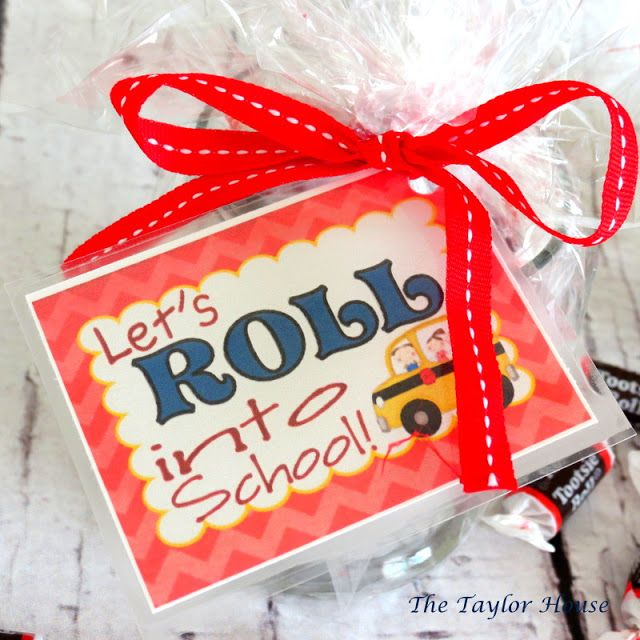 Easy and Inexpensive Back to School Teacher Gift