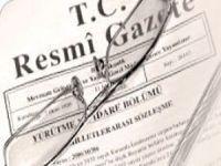 Jandarma'da atamalar Resmi Gazete'de yayımlandı