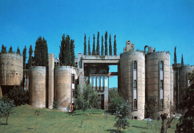 1930s factory converted into Ricardo Bofill's home. Bofill is a well known Catalan Architect born in Barcelona.