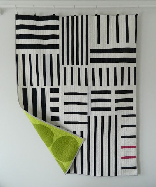 Oh, I just realized I completely forgot to share my Simple Stripes quilt which was featured in issue 49 of Love Patchwork and Quilting magazine. Better late than never though, right? This quilt is ba