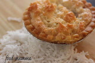 Food Mamma: coconut jam tarts- i make these for christmas and have for yrs - they are so yummy