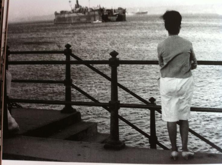 Nostalgias del marinero... Foto de Sergio Larraín, Valparaíso