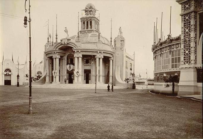 Pabellon Argentino del Servicio Postal - Centenario 1910