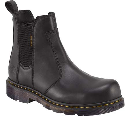Dr. Martens Fusion Steel Toe Chelsea Boot with FREE Shipping & Exchanges. The Fusion Steel Toe Chelsea Boot is an anti-static, slip-resistant boot with contemporary looks.