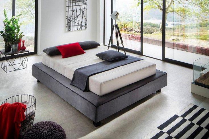 places of style boxspringbett daisuke in futonoptik f r. Black Bedroom Furniture Sets. Home Design Ideas