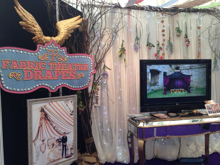 This is us! Fabric Theatre. Tatton Park.